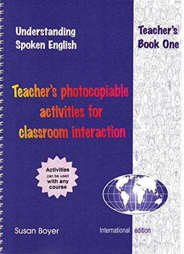 9781877074110: Understanding Spoken English: A Focus on Everyday Language in Context: Teacher's Book 1