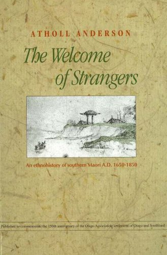 9781877133411: The Welcome Strangers: An Ethno-History of Southern Maori, 1650-1850