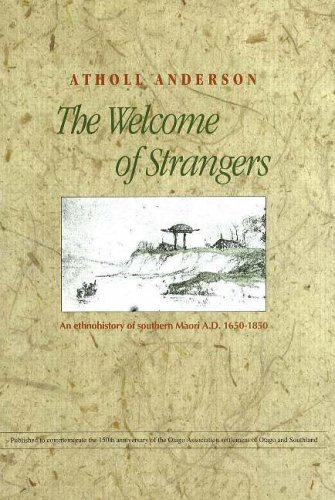 9781877133596: The Welcome of Strangers: An Ethnohistory of Southern Maori, 1650-1850