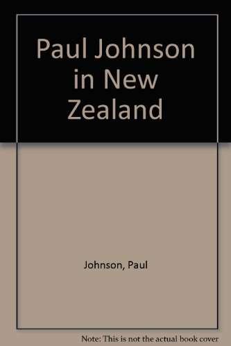 Paul Johnson in New Zealand (9781877148002) by Johnson, Paul