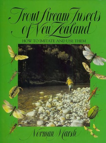 9781877256363: TROUT STREAM INSECTS OF NEW ZEALAND: HOW TO IMITATE AND USE THEM.