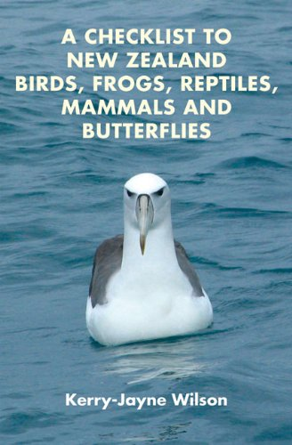 9781877257513: A Checklist to New Zealand Birds, Frogs, Reptiles, Mammals and Butterflies