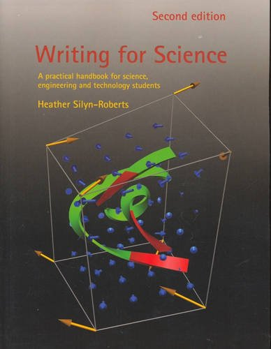 9781877258343: Writing for Science