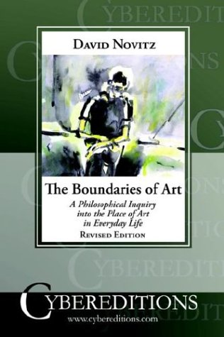 9781877275241: The Boundaries of Art