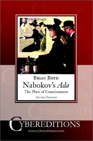 9781877275302: Nabokov's ADA: The Place of Consciousness