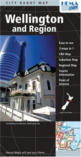 Wellington and Region City Map by Hema: Hema Maps