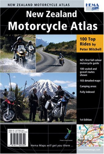 9781877302329: New Zealand Motorcycle Atlas: 100 Top Rides
