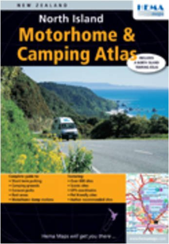 9781877302565: North Island Motorhome and Camping Atlas