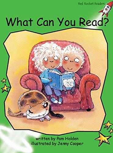 9781877363559: What Can You Read? (Red Rocket Readers)