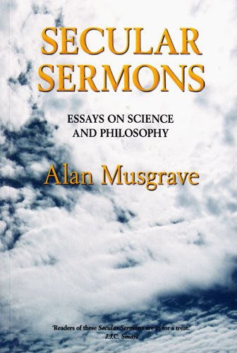 secular sermons essays on science and philosophy And the secular imagination: an interdisciplinary symposium on augustine's   and augustine's preaching paul b harvey, jr on augustine and tyconius.