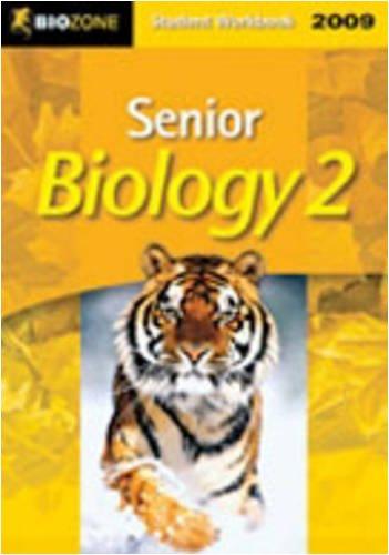 9781877462238: Senior Biology 2: 2009 Student Workbook