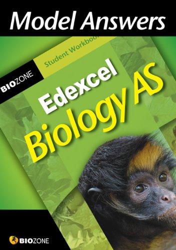 9781877462566: Model Answers Edexcel Biology AS: Student Workbook