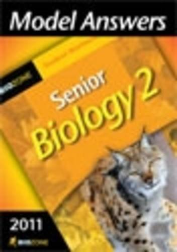 9781877462627: Model Answers Senior Biology 2: Student Workbook