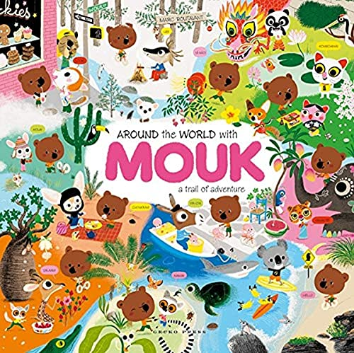 9781877467011: Around the World with Mouk