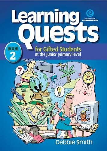 9781877478086: Learning Quests for Gifted Students Bk 2 (Junior)