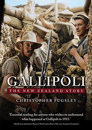 Gallipoli: The New Zealand Story: Pugsley, Christopher