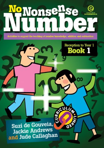 9781877523205: No Nonsense Number: Reception to Year 1 Bk 1