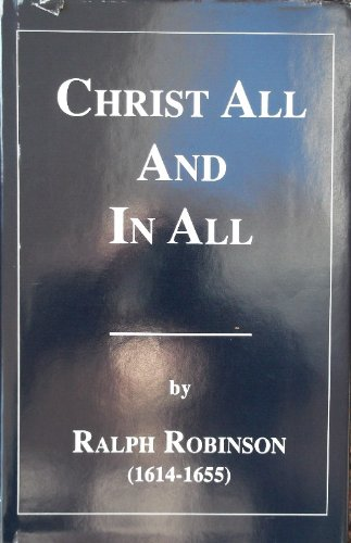9781877611490: Christ All in All