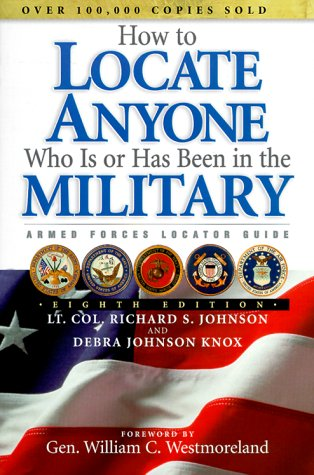 How to Locate Anyone Who Is or: Lt. Col. Richard