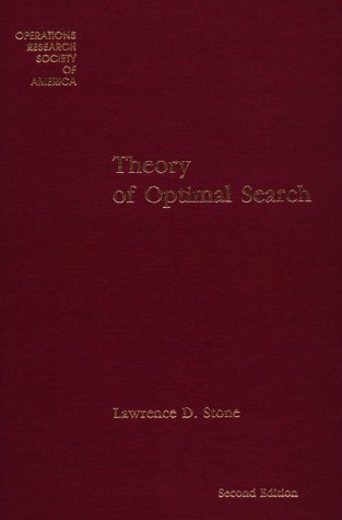 9781877640001: Theory of Optimal Search