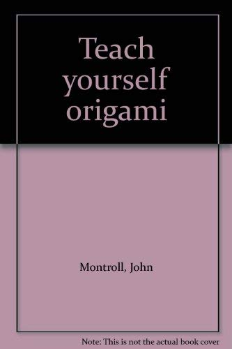 9781877656125: Teach yourself origami
