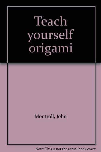 9781877656125: Teach yourself origami