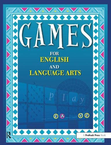 9781877673122: Games for English and Language Arts