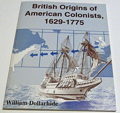 9781877677694: British Origins of American Colonists, 1629-1775