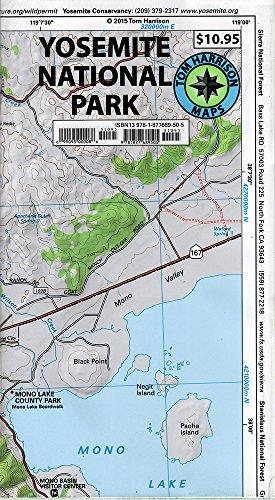 9781877689505: Yosemite National Park Recreation Map (Tom Harrison Maps)