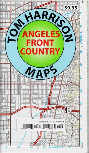 9781877689659: Trail Map Angeles Front Country (Tom Harrison Maps)