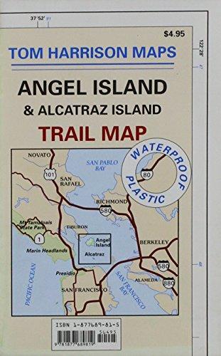 9781877689819: Angel Island & Alcatraz Isl. Trail Map (Tom Harrison Maps)
