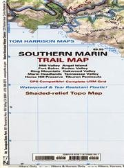9781877689901: Southern Marin Trail Map (Tom Harrison Maps)
