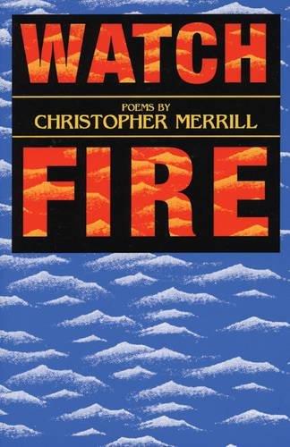 9781877727436: Watch Fire