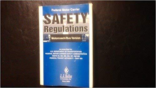 9781877798337: Federal Motor Carrier Safety Regulations Pocketbook: Motor Coach/Bus Version: Motorcoach/Bus Version (19ORS)