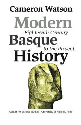 9781877802164: Modern Basque History: Eighteenth Century To The Present (Basque Textbooks Series)
