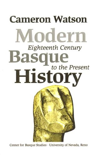 9781877802171: Modern Basque History: Eighteenth Century To The Present (Basque Textbooks Series)