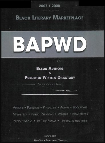 9781877807305: BAPWD-Black Authors & Published Writers Directory (Black Literary Marketplace 2008/2009)