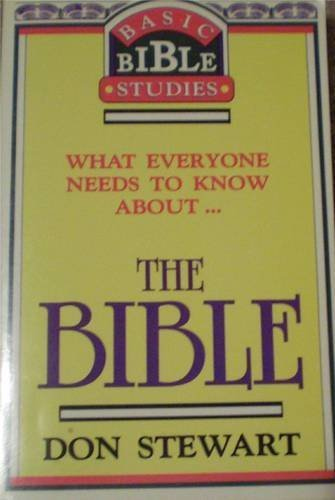 9781877825088: What Everyone Needs to Know about The Bible