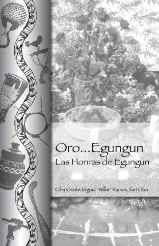 9781877845062: Oro Egungun...Las Honras de Egungun