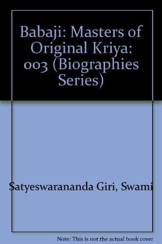 9781877854187: Babaji: Masters of Original Kriya: 003