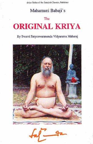 9781877854422: The Original Kriya