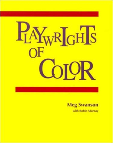 9781877864353: Playwrights of Color