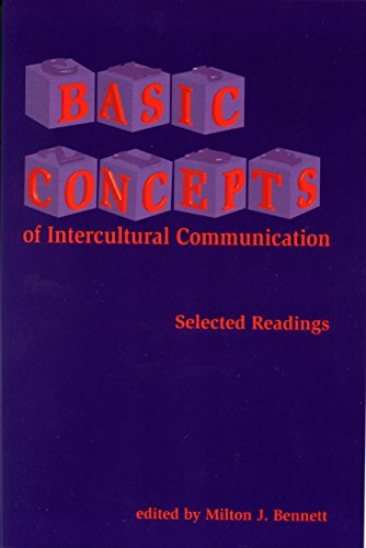 9781877864629: Basic Concepts of Intercultural Communication: Selected Readings