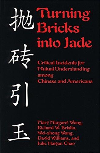 Turning Bricks into Jade : Critical Incidents: Mary Margaret Wang;