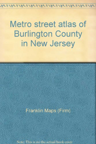 9781877911170: Metro street atlas of Burlington County in New Jersey