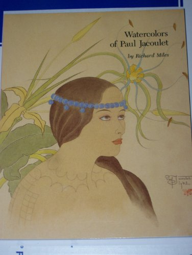 Watercolors of Paul Jacoulet.: Jacoulet, Paul, 1902-1960) Miles, Richard.