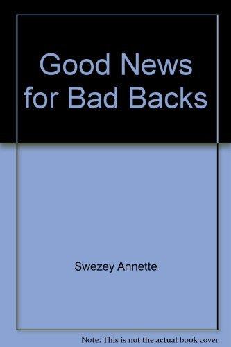 9781877961014: Good news for bad backs