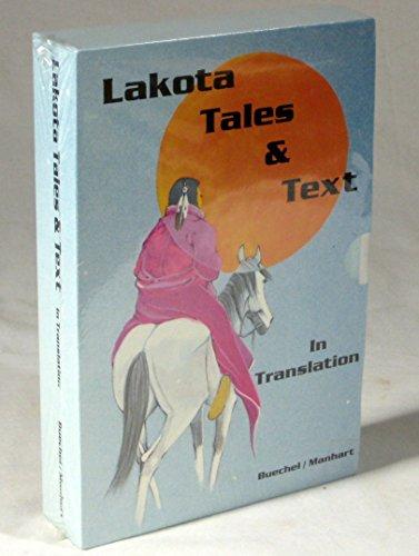 Lakota Tales and Text: In Translation: Buechel, Eugene