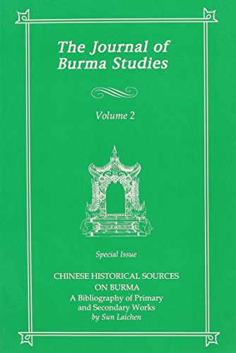 The Journal of Burma Studies: Southeast Asia Publications,US