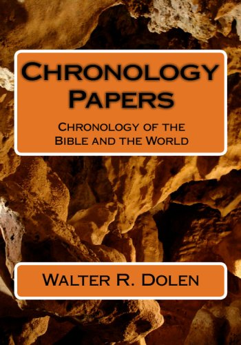 9781877981395: Chronology Papers: Chronology Of The Bible And The World